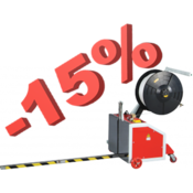 Успейте купить стреппинг-машину для вертикальной обвязки TP-202MV со скидкой 15%
