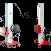 Сравнение стреппинг машин для паллет TP-502MH и TP-202MH