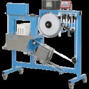 Бандажная машина импульсного типа c термотрансферным принтером ATS US-2000 TTP