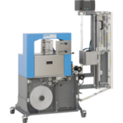 Бандажная машина импульсного типа c термотрансферным принтером ATS US-2100 TTP