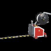Полуавтоматическая машина TP-202MV Mini Verti для вертикальной обвязки паллет (п