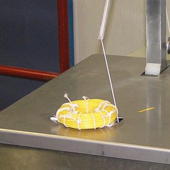 Обвязка небольшой хрупкой продукции шнуром