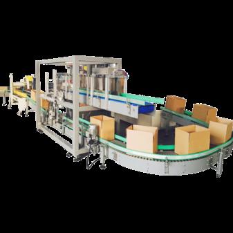 Оборудование для упаковки картона