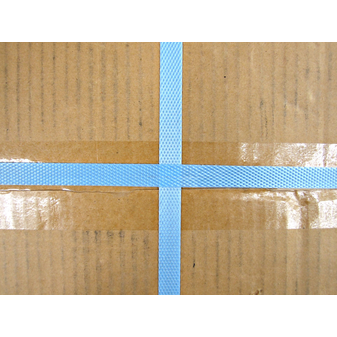 Обвязка коробок упаковочной лентой