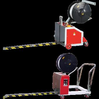 Сравнение стреппинг машин TP-202MV и TP-502MV для упаковки паллет