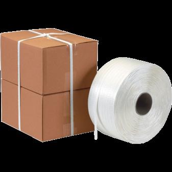 Стреппинг упаковка кордовой лентой