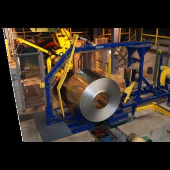 Автоматическая стреппинг машина для кольцевой обвязки бухт
