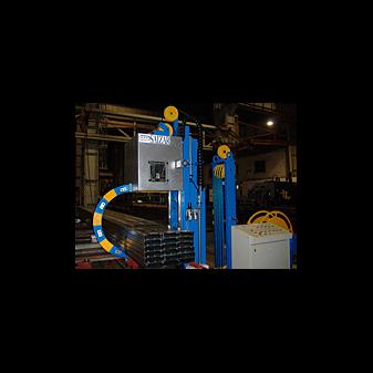 Автоматическая стреппинг машина для обвязки туб
