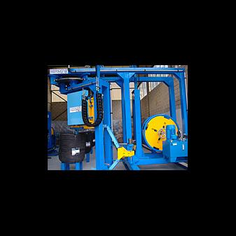 Автоматическая стреппинг машина для радиальной обвязки бухт