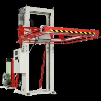 Автоматическая стреппинг машина для горизонтальной обвязки паллет TP-733H