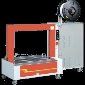 Стреппинг-машина TP-601L для широких ПП лент с низким столом