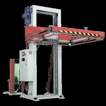Автоматическая стреппинг машина оборудование transpack TP-703H castor для гориз