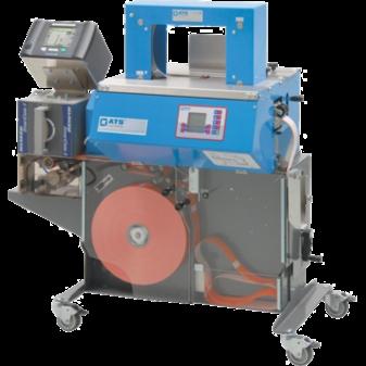 Бандажная машина c термотрансферным принтером ATS US-2000 MDM-P
