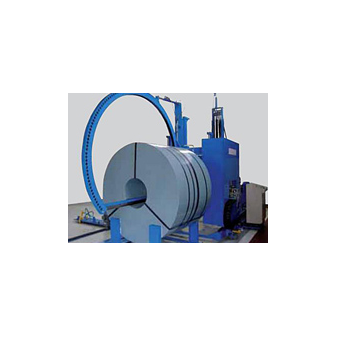 Автоматическая стреппинг машина для кольцевой и радиальной обвязки бухт