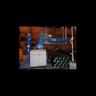 Автоматическая стреппинг машина для обвязки труб