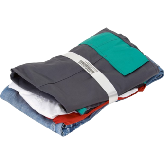Бандажная машина ATS US-2000 TRW-DMS-MP, образец упаковки футболка