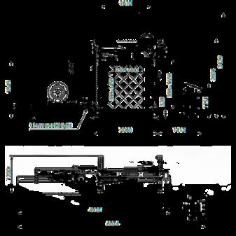 Чертеж стреппинг машины TP-733VTS