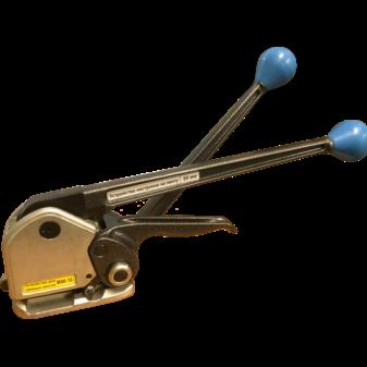 Комбинированное устройство M4K-10 для стальной ленты (вид слева)
