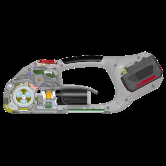 Схема ручного стреппинг инструмента SIGNODE BXT 2