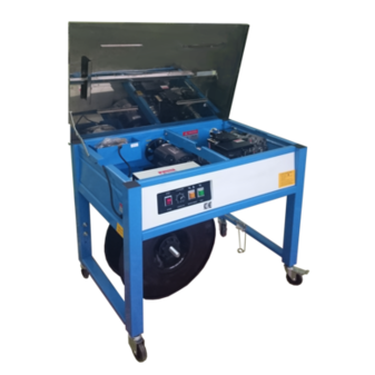 Полуавтоматическая стреппинг-машина XT 8022 (с открытым столом)