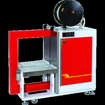 Автоматическая стреппинг-машина TP-601YA с приводным роликовым конвейером