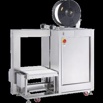 Автоматическая стреппинг-машина TP-601YAM с приводным роликовым конвейером