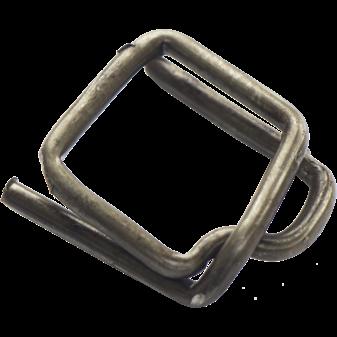Металлическая пряжка для ленты (Цинк). Купить со склада